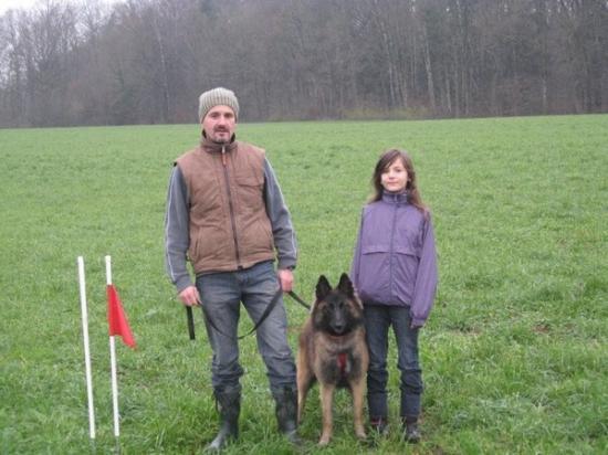 Laurent Boutet et sa fille