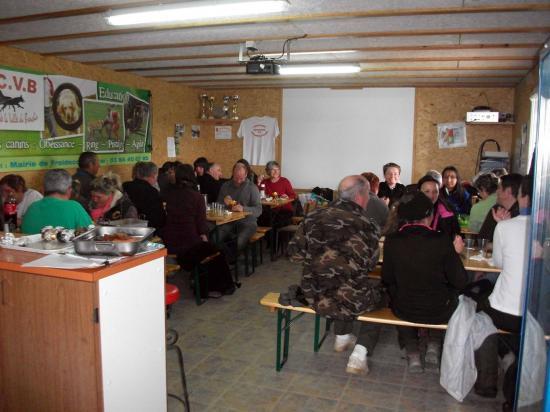 Le repas organise par les agilitystes